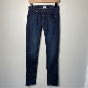 Hudson Carly Midrise Straight Leg Jeans